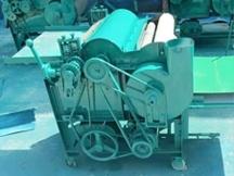 棉花经过大型弹花机排出来的杂质是怎么产生的?